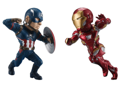 Captain America: Civil War World Collectible Figure - Captain America & Iron Man Set