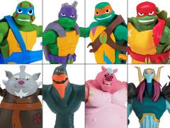 Rise of The TMNT Basic Wave 1 Set of 8 Figures