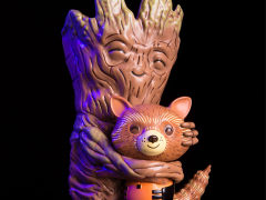 Marvel Rocket & Groot Treehugger Vinyl Figure