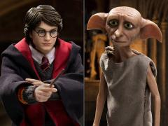 Harry Potter Real Master Series Harry Potter 2.0 (Uniform Ver.) & Dobby 1/8 Scale Figure Set