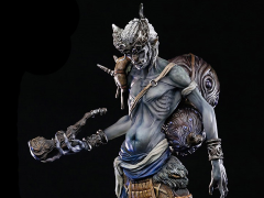 Asura Online Silver Horn Limited Edition Statue