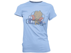 Super Cute Tees: Baby Groot Tape Deck (Womens)