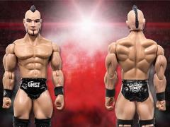 "Rising Stars of Wrestling Brian Cage 6"" Action Figure"