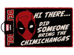 Marvel Deadpool Chimichangas Door Mat