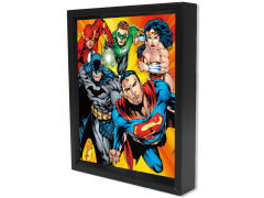DC Comics Shadow Box - Justice League Heroes