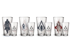 Assassin's Creed Syndicate Pint Glasses Set of 4