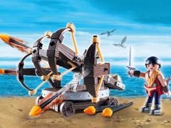 DreamWorks Dragons Playmobil Playset - Eret With Four Shot Ballista