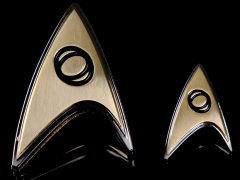 Star Trek: Discovery Enterprise Science Badge & Pin Set