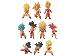 Dragon Ball Super World Collectable Figure Goku - Box of 15