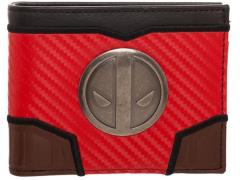 Marvel Deadpool Carbon Fiber Bi-fold Wallet