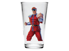 Street Fighter II M. Bison Pint Glass