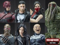 Marvel Knights Legends Wave 1 Set of 6 (Man-Thing BAF)
