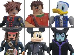 Kingdom Hearts Minimates Series 3 Set of 3 Two-Packs