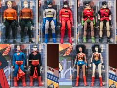 "Super Friends World's Greatest Heroes (Universe of Evil) 8"" Retro Figure Two Pack Set of 5"