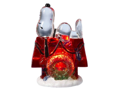 Peanuts Snoopy & Doghouse Light-Up Table Piece