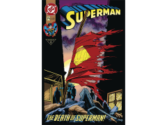 DC Comics Tin Cover Collection #2 Superman Vol. 2 #75