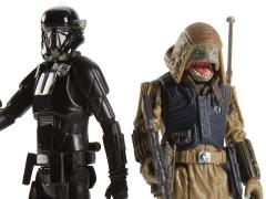 Star Wars Universe Deluxe Imperial Deathtrooper & Rebel Commando Pao Figures
