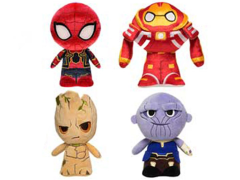 Hero Plushies: Avengers: Infinity War Set of 4