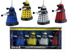Doctor Who Dalek Miniature Ornaments Box of 4