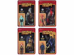 "Hellboy 3.75"" ReAction Retro Action Figure - Set of 4"