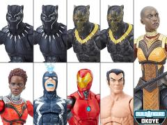 Black Panther Marvel Legends Wave 1 Set of 8 Figures (Okoye BAF)
