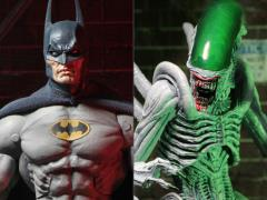 Batman Vs. Alien Figures Two Pack