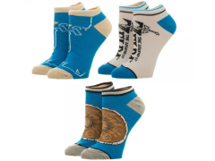 The Legend of Zelda: Breath of the Wild Ankle Socks 3 Pack