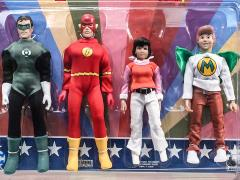 "Super Friends World's Greatest Heroes 8"" Retro Figure Four-Pack BBTS Exclusive (LE 25)"