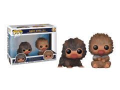 Pop! Movies: Fantastic Beasts: The Crimes of Grindelwald - Baby Niffler (Brown & Tan) Two-Pack