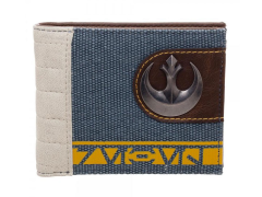 Rogue One Rebel Mixed Material Wallet