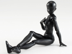 S.H.Figuarts Female Body Set (Solid Black)