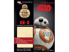 Star Wars IncrediBuilds BB-8 Deluxe Book & 3D Wood Model Kit