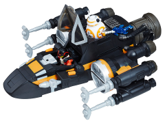 Star Wars Galactic Heroes Poe Dameron's Boosted X-Wing Fighter