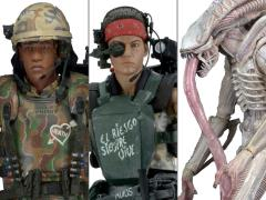 Alien Series 09 Set of 3 Figures