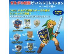 The Legend of Zelda Shield Pin Collection - Bag of 10