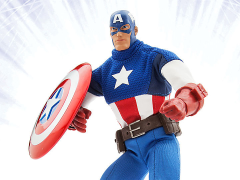 Marvel Ultimate Series Premium Action Figure - Captain America Exclusive