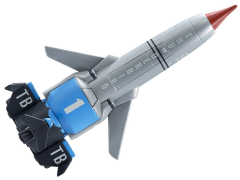 Thunderbirds Are Go Vehicle With Sound Thunderbird 1