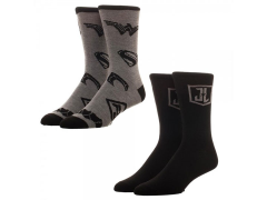 Justice League Crew Socks 2 Pack