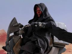 Star Wars: The Phantom Menace DX17 Darth Maul With Speeder 1/6 Scale Collectible Figure