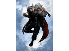 Marvel Dark Edition Thor Displate Metal Print
