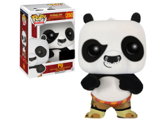 Pop! Movies: Kung Fu Panda - Po Flocked Exclusive