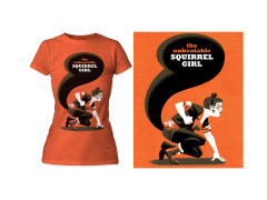 Marvel Unbeatable Squirrel Girl T-Shirt (Womens) (Michael Cho)