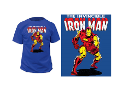 Marvel Iron Man Invincible T-Shirt
