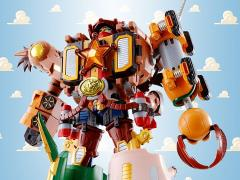 Toy Story Chogokin Combination Woody Robo Sheriff Star