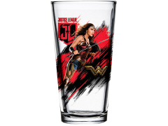 Justice League Toon Tumblers Wonder Woman Pint Glass
