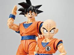 Dragon Ball Z Figure-rise Standard Goku & Krillin DX Model Kit Set