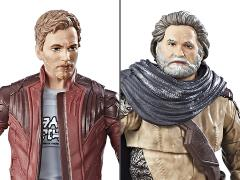 Guardians of the Galaxy Vol. 2 Marvel Legends Star-Lord & Ego Two-Pack