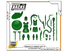 Vitruvian H.A.C.K.S. Accessory Pack - Emerald Green Transparent A