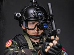 Chinese People's Liberation Army Special Forces Xiangjian 1/6 Scale Figure