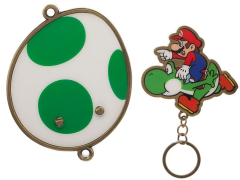 Super Mario Bros. Magnetic Mario & Yoshi Key Holder